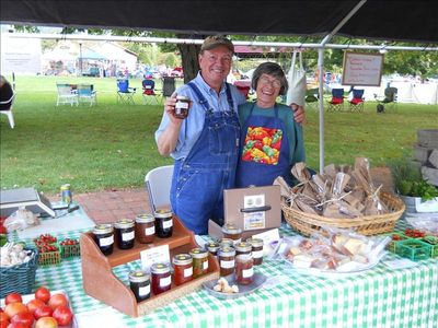 Asheville lodge rental - Local Farmers Market on Saturday's during the Summer/Fall