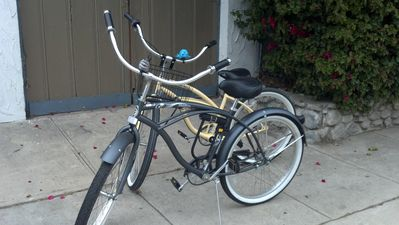 Two Adult Beach Cruiser Bicycles available for rent