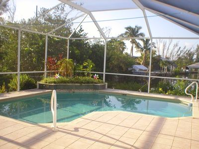 Private south facing pool catches warm breezes and provides sun all day.