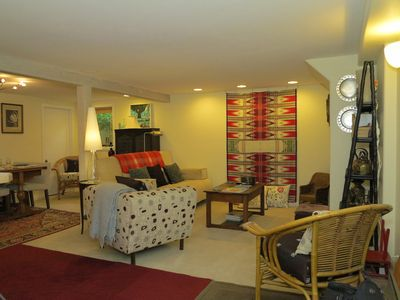 Walk in to open living plan and lots of comfort.