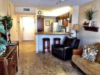 South Padre Island condo photo - LIVING AREA