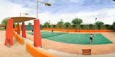 Palm Desert house rental - Tennis Courts On-Site at the Club Intrawest Palm Desert