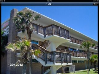 North Padre Island condo photo - Our unit is 3rd floor left corner, elevators also available.