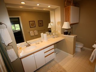 Bretton Woods townhome photo - Master bathroom
