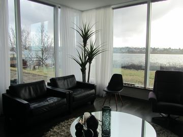 Reykjavik house rental - Living room