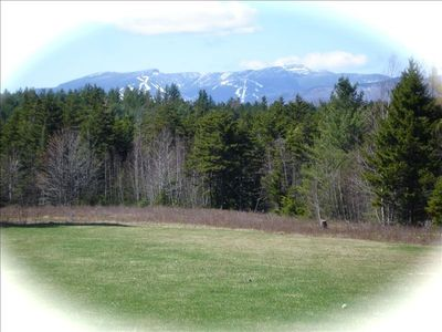 Mount Mansfield in Spring