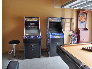 Arcade game machines and electronic dart board - Windsor Hills villa vacation rental photo
