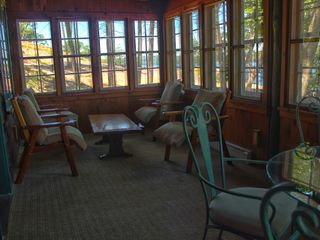Lake Wallenpaupack lodge photo - Lakeside Screened Porch