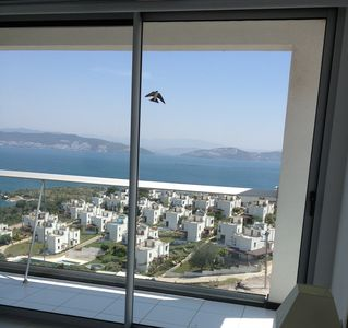 Bodrum apartment rental - The view from the bedroom