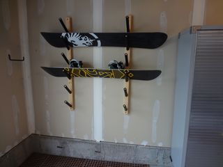 Snowbasin townhome photo - Ski/Snowboard Rack + additional space to store other ski/outdoor equipment