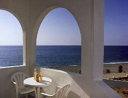 Makrygialos apartment rental - Seaview from the flat