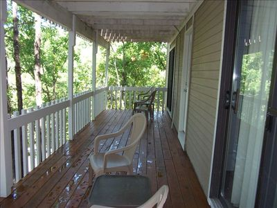 Osage Beach house rental - View of decks off of the second and third guest bedrooms
