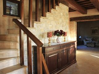 Collazzone farmhouse photo - Stairway to Master bed