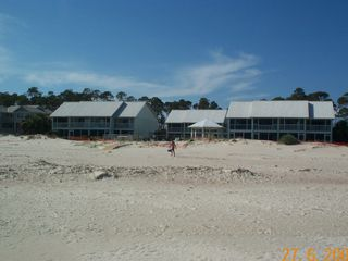 Port St. Joe townhome photo - Beach Bungalow from the beach