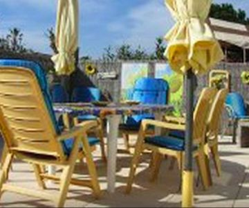 Mobilhome Camping Kontiki St. Tropez with 2 bedrooms and 6 people