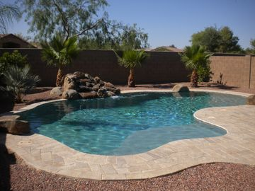 Maricopa house rental - Pool with a baby wade section