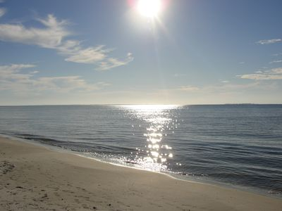 The nearly private Carrabelle Beach