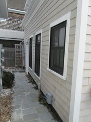 Provincetown cottage photo - Stone path to exclusive use of outdoor area