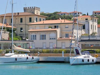 Apartments on the Tuscan coast a few steps from the center of San Vincenzo (LI)