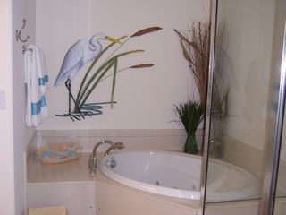 Belmont Towers Ocean City condo photo - Master bath
