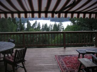 Lake Arrowhead cabin photo - deck