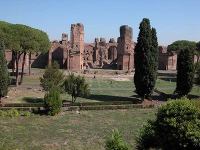 Vatican area apartment rental - Terme di Caracalla