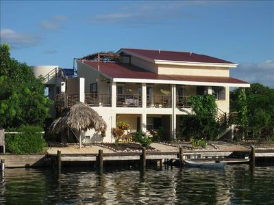 Villa Waterside view