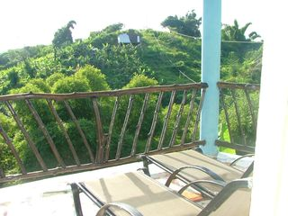 Green Island house photo - View from Spring Mountain Villa rear balcony