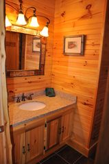 Lake Placid house photo - Bathroom