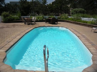 Heated, in-ground pool