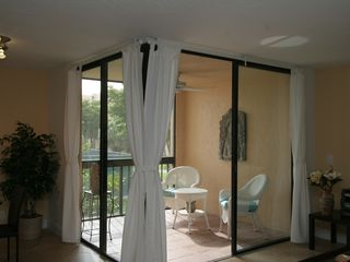 Delray Beach apartment photo - Open balcony with west exposure.