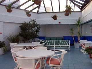 Golden Sands Ocean City condo photo - Atrium overlooking indoor pool