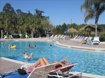 Bahama Bay condo rental - One of four pools at the resort for swimming or soaking up the Florida sunshine.