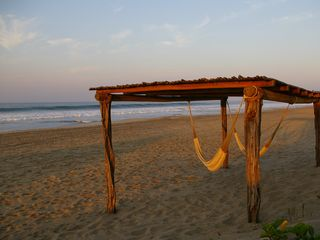 Puerto Escondido villa photo - Relax in our hammocks on the beach