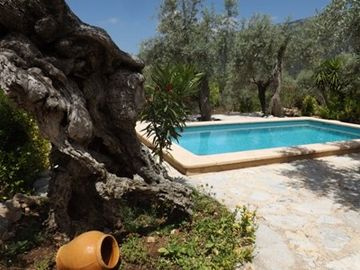 Fornalutx cottage rental - Splendid romantic cottage at Tramuntana