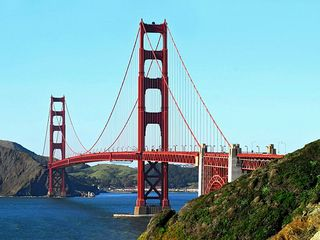 San Francisco apartment photo - Golden gate bridge from the coastal trail