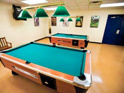 Game Room at the Shawnee Village Resort