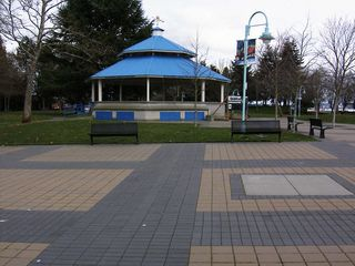 Nanaimo apartment photo - Park area and bandstand in Swy-Alana Lagoon park.