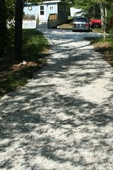 Brewster cottage photo - Long seashell driveway