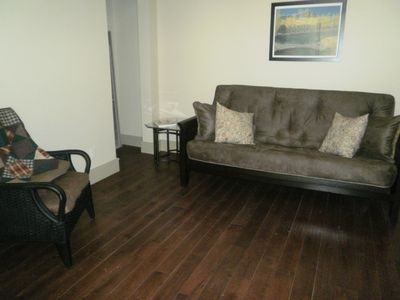 Ouray condo rental - New futon in den across the hall from second bath