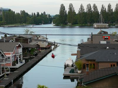 View of Portage Bay from the house.