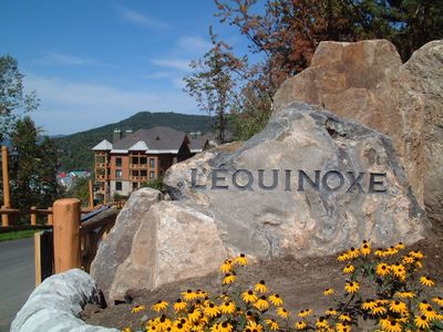 Mont Tremblant condo rental - Gated Entrance