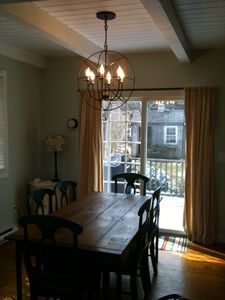 Surfside Nantucket house rental - Dining area
