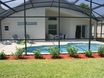 private heated pool - June 2011
