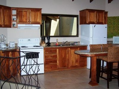 Well-Equipped & Convenient Kitchen Area