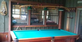Paradox Lake house photo - 9 foot pool table
