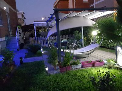 luxury apartment with garden 50 meters from the sea