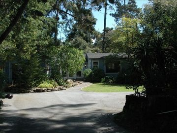 Monterey house rental - The front driveway