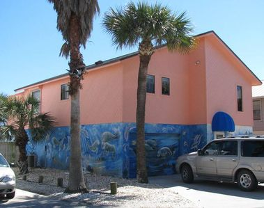 Cocoa Beach house rental - #1 Presidential- Beautifull muralled beachfront home for the stay of a lifetime.