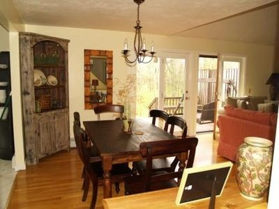 Oak Bluffs house rental - Dining Room